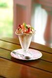 Beautiful Ice-cream In Glass Stock Image