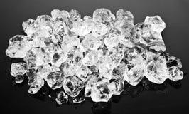 Beautiful Ice cubes. Stock Photo