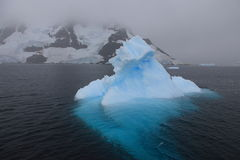 Beautiful iceberg in Antarctica Stock Photo