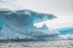Beautiful iceberg in Antarctica. This shot was made during expedition to Antarctica in January 2012 Stock Photos