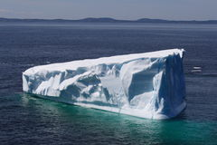 Beautiful Iceberg in Goose Cove Stock Photo