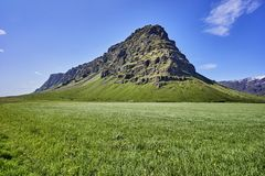 Free Beautiful Iceland Landscape With Mountains And Blue Sky Stock Photo - 102634140