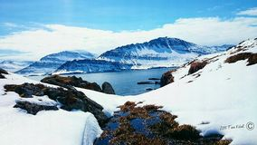 Beautiful Iceland stock photo