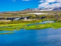Beautiful icelandic landscape Royalty Free Stock Photos