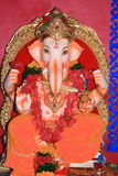 Beautiful icon of an Indian deity. Royalty Free Stock Image
