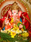 Beautiful Idol Lord Ganesh-I Royalty Free Stock Photos