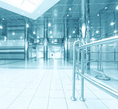 Beautiful illuminated tunnel Royalty Free Stock Photography