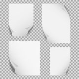 A beautiful illustration of blank white paper sheet vector stock photos