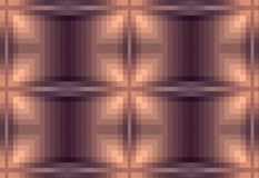 Abstract brown background. Checkered pattern from square. Pixel art. Beautiful illustration. Bright pattern. Brown colors. Transition from dark to light Royalty Free Stock Image