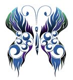 Beautiful  illustration with butterfly Royalty Free Stock Images