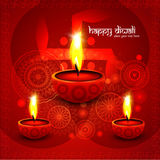 Beautiful illustration for happy deepavali bright colorful desig Royalty Free Stock Photography