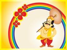 Beautiful illustration for happy onam. Kekasih ilustrasi Onam {beautiful illustration for onam Stock Illustration