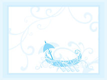 Beautiful illustration for happy onam. Wallpaper for onam Royalty Free Stock Images
