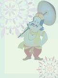 Beautiful illustration for happy onam. Wallpaper for onam royalty free illustration
