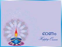 Beautiful illustration for happy onam Stock Photo
