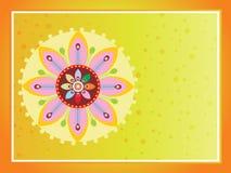 Beautiful illustration for happy onam Royalty Free Stock Image