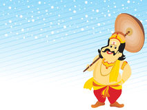 Beautiful illustration for happy onam Royalty Free Stock Photography