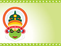 Beautiful illustration for happy onam Stock Images