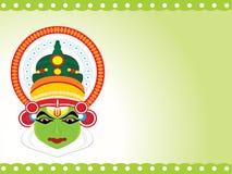 Beautiful illustration for happy onam Stock Images
