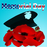 Beautiful illustration by memorial day USA Stock Photos