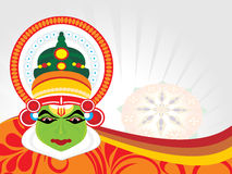 Beautiful illustration for onam Royalty Free Stock Photo