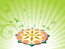 Beautiful illustration for onam Royalty Free Stock Image