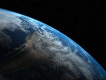 Beautiful illustration of the Planet Earth Royalty Free Stock Photos