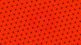 Abstract design, Red background, geometric Patterns, texture of Multiple triangles, black net. A Beautiful Illustration for wallpaper, banners, Web designing stock illustration