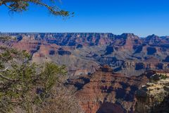 Beautiful Image of Grand Canyon. Amazing Daytime Image taken at Grand Canyon National Park royalty free stock images