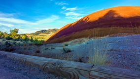 Beautiful Image of Painted Hills National Monument in Oregon, USA.  stock image
