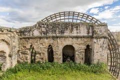 Beautiful image of a mill of the Guadalquivir Molino de la Albolafia stock image