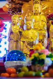 Beautiful images of Guanyim, or Guan Yin, Chinese god in Chinese Royalty Free Stock Photos