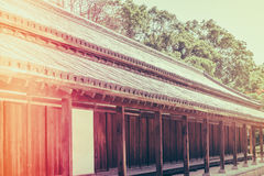 Beautiful  Imperial Palace in Tokyo, japan  ( Filtered image pro Stock Photos