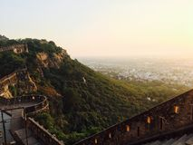 Beautiful India. Beautiful view of an Indian historic place Stock Images