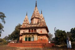 Beautiful Indian abandoned temple in the woods. Ahodhya, India Royalty Free Stock Image