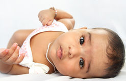 Beautiful Indian baby Stock Photography
