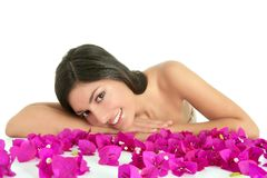 Beautiful indian and bougainvillea flowers Royalty Free Stock Image