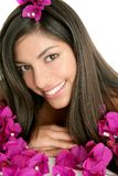 Beautiful indian and bougainvillea flowers Royalty Free Stock Photos