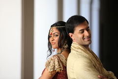 Beautiful Indian Couple Royalty Free Stock Photography