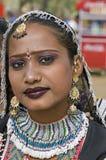 Beautiful Indian Dancer Stock Image