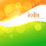 Beautiful indian flag Royalty Free Stock Photography
