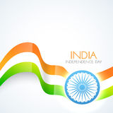 Beautiful indian flag Royalty Free Stock Photos