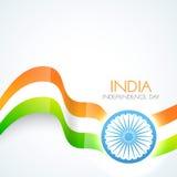 Beautiful indian flag Royalty Free Stock Photos