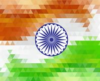 Beautiful Indian flag color themed illustration for republic day india, illustration for August 15. Beautiful Indian flag color themed illustration for republic Stock Photos