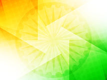 Beautiful Indian flag theme background design. Royalty Free Stock Images