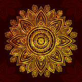 Beautiful Indian floral ornament Stock Photography