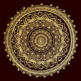 Beautiful Indian floral ornament Royalty Free Stock Image