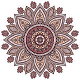 Beautiful Indian floral ornament Royalty Free Stock Photography