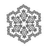 Beautiful Indian floral ornament. Mandala. Stock Image