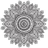 Beautiful Indian floral ornament Stock Images